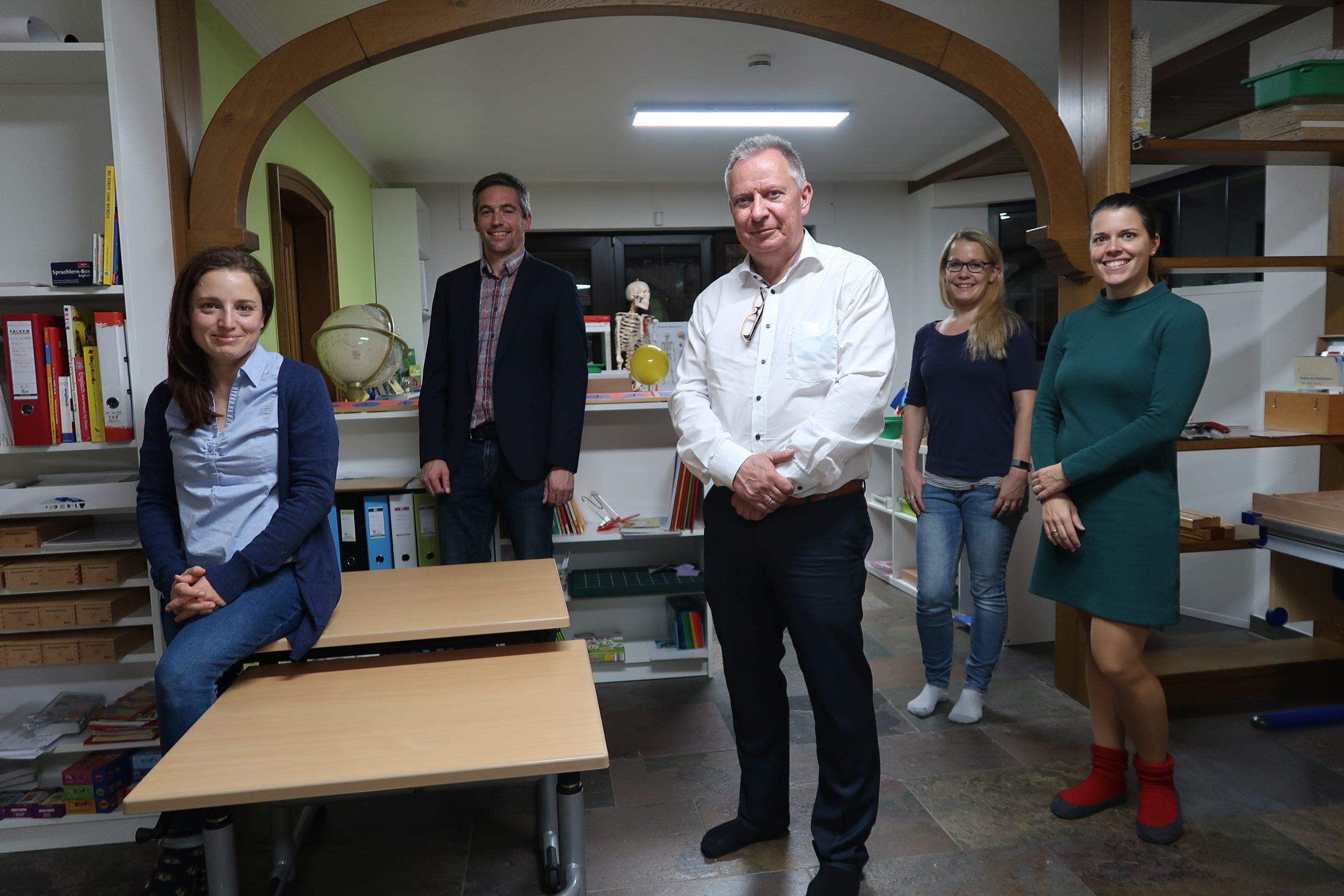 Foto (v.l.n.r.): Jacqueline Kühn, Markus Salden, Stephan Pusch, Maria Heintz, Katrin Salden